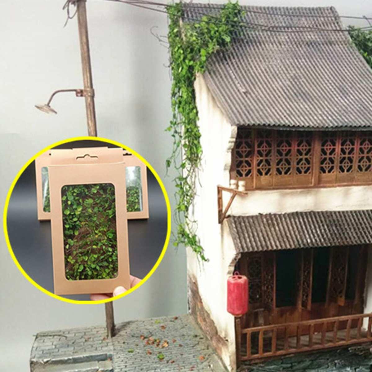 DIY Artificial Mini Scenery Rattan Creeper Model Scale Military Garden Street Accessory Micro Landscape Sand Table Model Decor