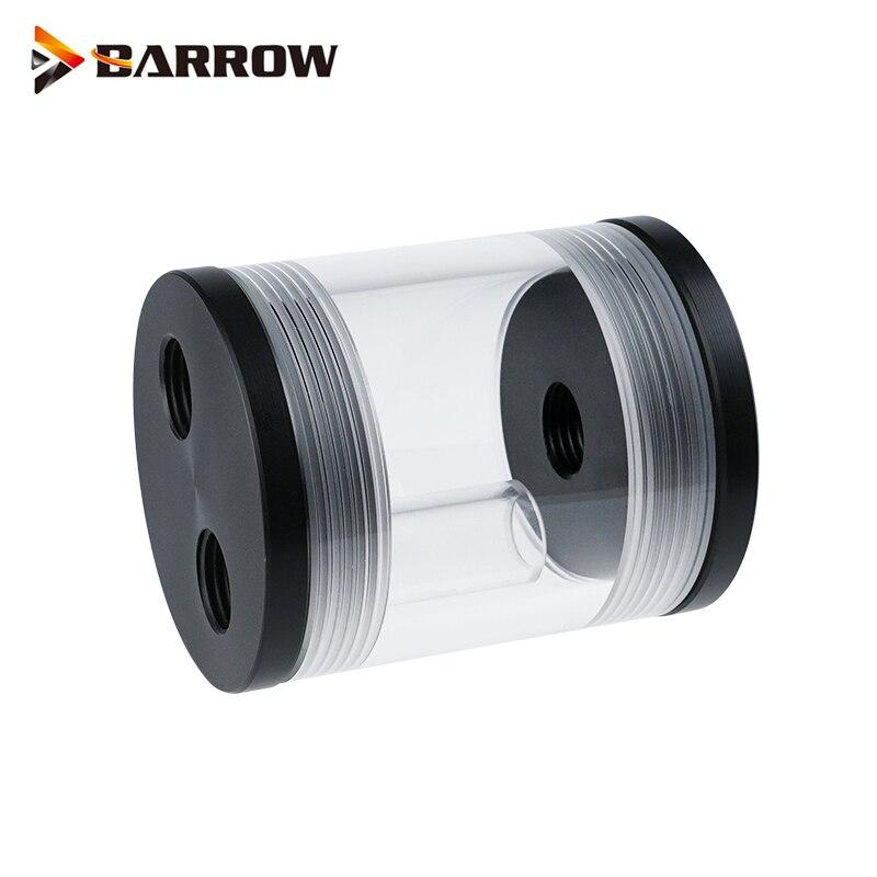 Цилиндрический резервуар для воды Barrow для охлаждения жидкости мини шкафа, прозрачный резервуар длиной 60 мм диаметром 50 мм, стандартный