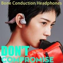 Knochen Leitung Kopfhörer Bluetooth V 5,0 Öffnen Hörer Drahtlose Kostenloser Ohren Noise-Reduktion Sport für Laufen Fitness Fahren