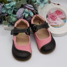 TipsieToes Brand High Quality Genuine Leather Stitching Kids Children Shoes Barefoot Girls 2020 Spring New Arrival