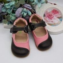 TipsieToes Marke Hohe Qualität Aus Echtem Leder Stitching Kinder Kinder Schuhe Barfuß Mädchen 2020 Frühjahr Neue Ankunft