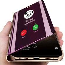 Умный зеркальный чехол для телефона для samsung Galaxy Note 10 A50 S10 S8 S9 S6 S7 Edge Plus S10e M20 M10 A30 A10 A20 A40 A70 A5 крышка
