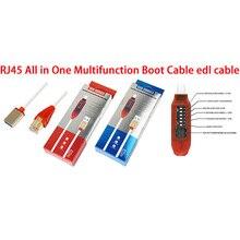 Micro USB RJ45 Đa Chức Năng khởi động tất cả trong 1 cable đối với Qualcomm EDL/DFC/9008 hỗ trợ Chế Độ nhanh phí MTK/SPD Z3X hộp bạch tuộc hộp