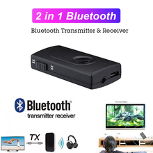Portable Wireless Bluetooth Receiver Transmitter 2 In 1 Ster