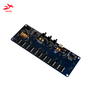 zirrfa Electronic DIY kit in4 in8 in8-2 in12 in14 in16 in17 in18Nixie Tube digital LED clock gift circuit board PCBA, No tubes
