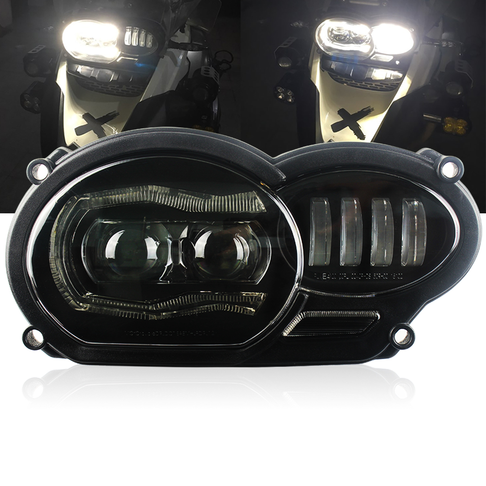 For Bmw R1200gs Headlight Led R 1200 GS Adventure 2012 2013 2014 Water Cooled 2013-on Fit Oil R1200GS