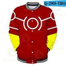 Мужская зимняя модная бейсбольная куртка для косплея моя геройская