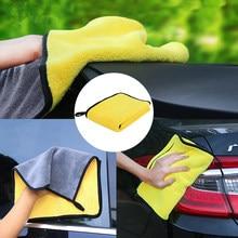 Super absorvente lavagem de carro pano de microfibra toalha de limpeza pano de secagem toalha de pano de pano de cozinha jardim mascarillas adesivos casa tela