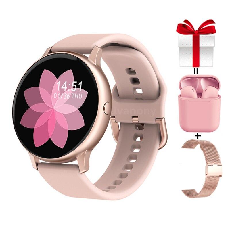 Permalink to Smart Watch Women DT88 Pro+Strap+Earphone ECG Fitness Music Control Smartwatch Men Waterproof Tracker for Samsung Huawei iPhone