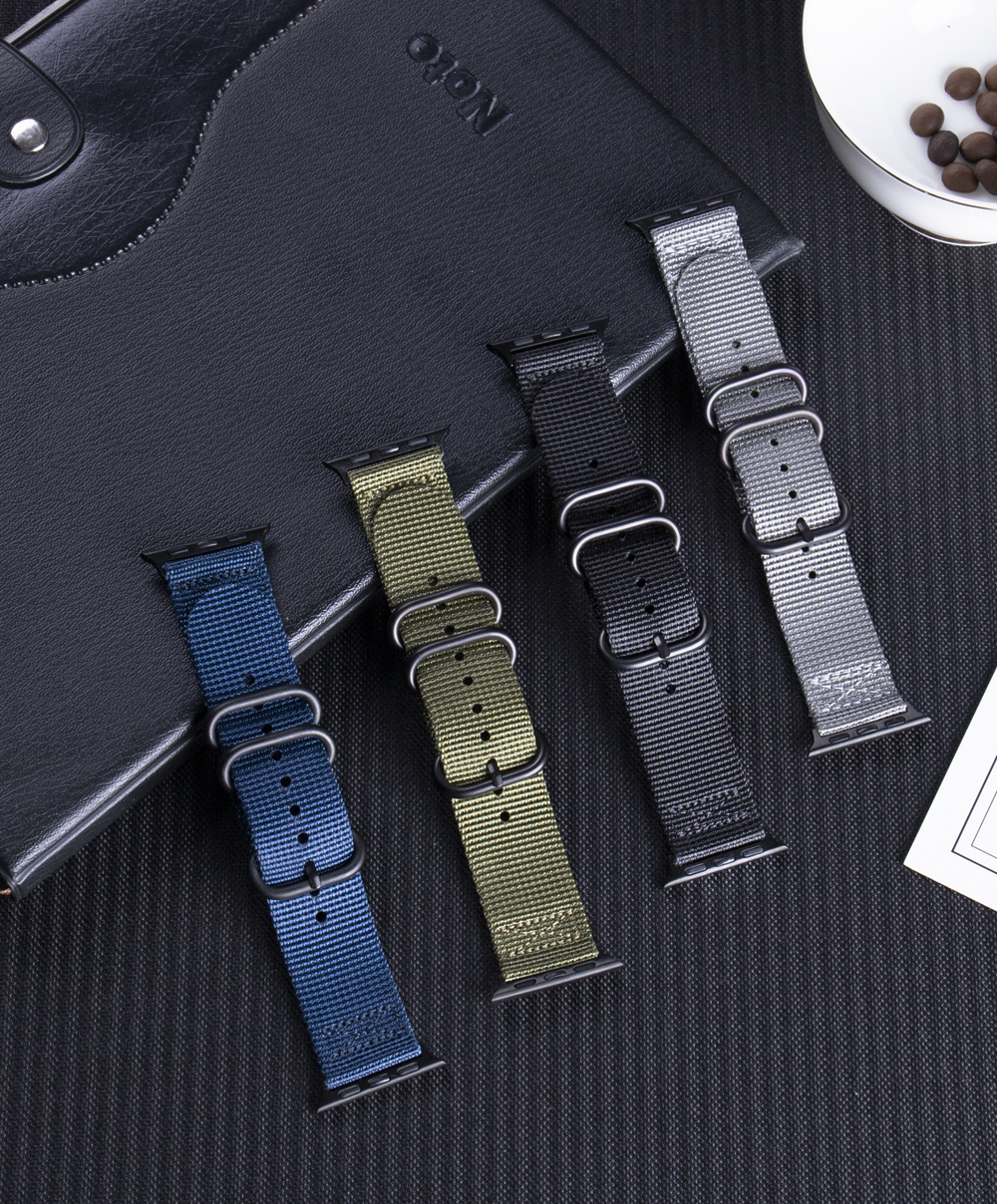 Nylon Fabric Band for Apple Watch 15