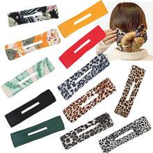 Тиара в форме цветка, инструмент для укладки волос, губка для женщин и девочек, губка для головных уборов, обруч для волос, обруч для волос
