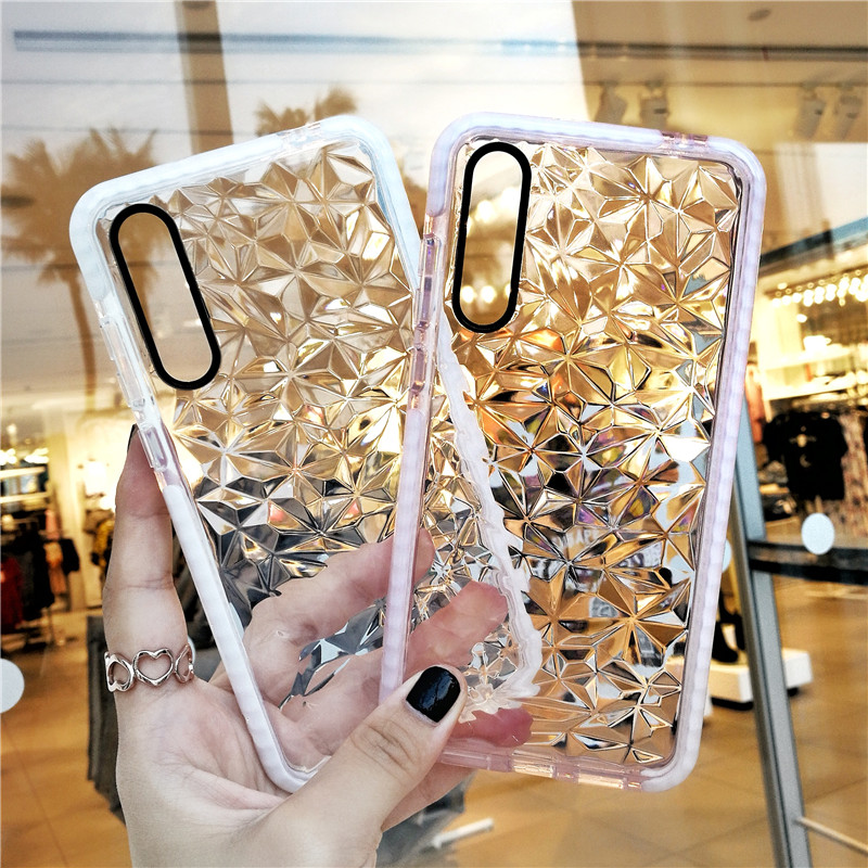 Luxury Silicone Phone <font><b>Case</b></font> For <font><b>Samsung</b></font> Galaxy S10 e <font><b>S9</b></font> S8 Plus S7 edge A10 A20 A30 A50 A70 M10 M20 M30 A40S Note 10 Pro 9 Cover image