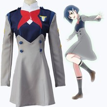 HISTOYE Cosplay Costume The Anime DARLING in the FRANXX Costume Ichigo Cosplay Clothing for Women Halloween Costume Party histoye cosplay costume the anime royal teacher heine costume heine wittgenstein cosplay clothing for women halloween party