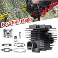 For STIHL TS400 Cylinder Piston Kit Bearing Top End Rebuild Kit Chainsaw Replacement Assembly Tool Spare Part For Grass Trimmer