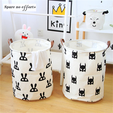 Baskets Storage-Bags Toys Organzier Dirty Folding Baby Cartoon Waterproof for Castle