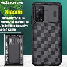 Nillkin – coque de protection pour Xiaomi, compatible modèles Mi 10T Pro, 5G, Note 10 Lite, POCO X3, NFC, M3, Redmi Note 9T, 9s Max, K30