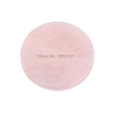 by dhl 100pcs Pink eyelash Extension Jade Stone Glue Lashes Adhesive Pallet Fake EyeLash Extension Stand Holder tanie tanio FUNMIX CN(Origin) Crystal cilios glue 10012285 0 031