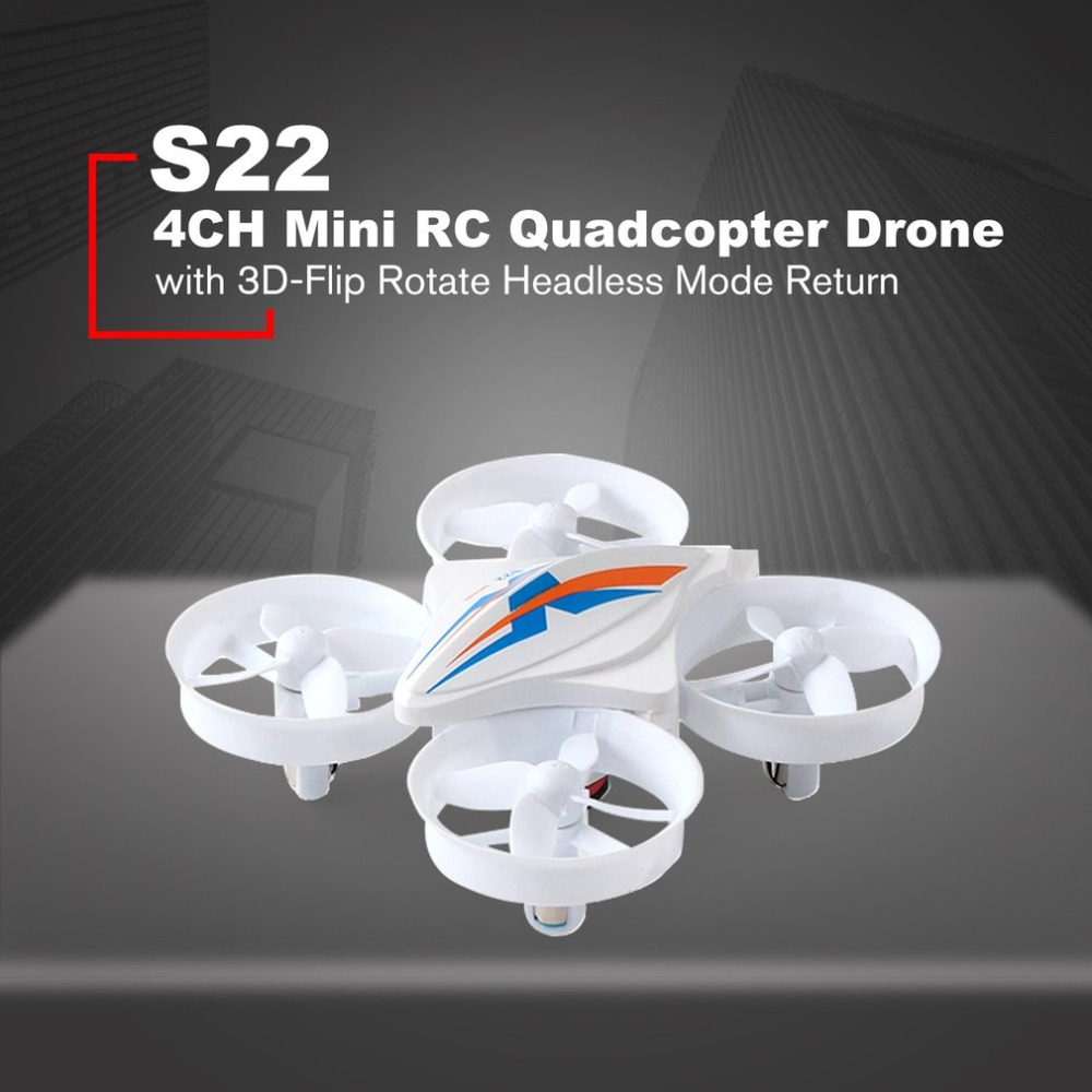 S22 4CH Mini RC Quadrocopter Drone With Headless Mode Pocket Drones RC Helicopter Remote Control Dron Gift Toys for children