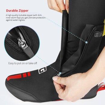 רכיבה על אתחול מכסה כביש MTB הנעלה חורף חם תרמית Neoprene רובוטי בוהן עמיד למים רכיבה על אופניים עטיפות נעלי לאופניים