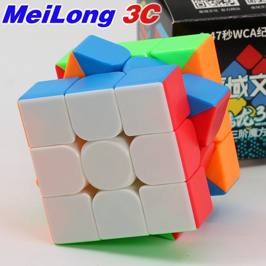 Magic Cube Puzzles MoYu MeiLong 3C 3x3x3 3x3 Cubo Speed 2x2x2 2x2 Professional Speed Puzzle Rubiks Cube Educational Toys For Kid