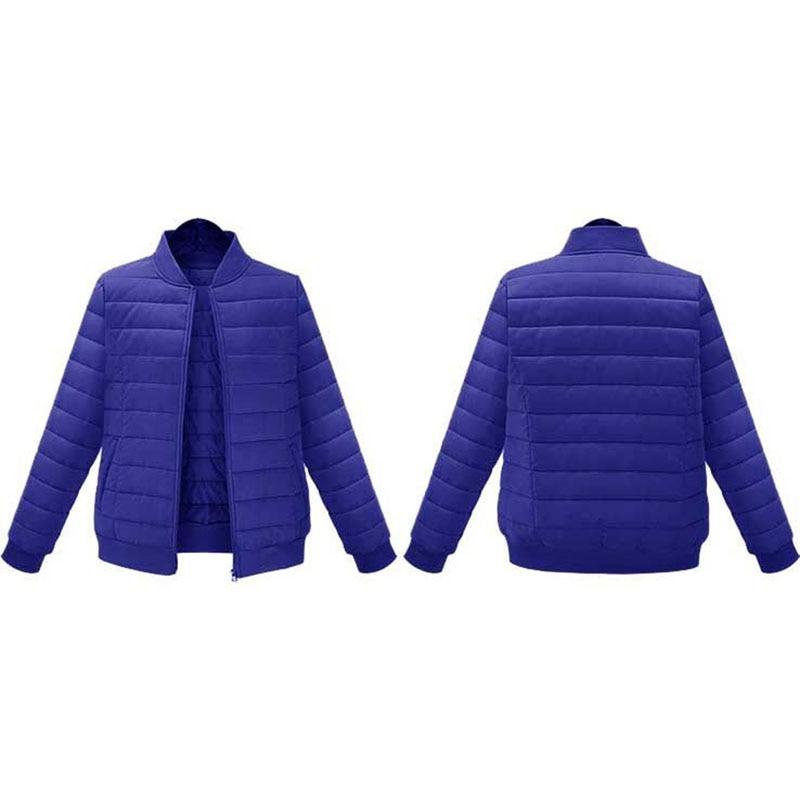 New Autumn winter 2019  of Jacket Stylish Windproof Women's Parka Coat plus size 4XL 5XL  Female Jacket Coat Women Quilted Coat 1