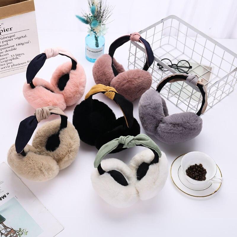 Cute Korean-style Hair Band Protection Ear Plush Earmuff
