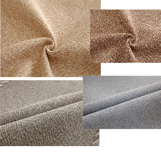 Elegant Linen Cotton Modern Sofa Cover
