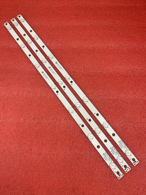 3 PCS LED backlight strip for 32LJ500 32LH500D GJ-2K16 GEMINI-315 32PFS6401 KDL-32R330D 32PHS5301 32PFS5501 LB32080 V0  01P26