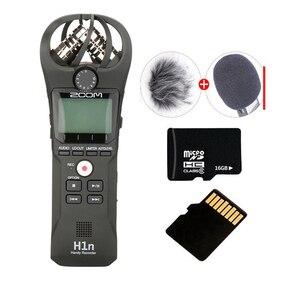 Image 1 - ZOOM H1 H1N poręczny rejestrator cyfrowy aparat fotograficzny rejestrator audio wywiad nagrywanie mikrofon stereofoniczny dla DSLR Boya BY M1 mikrofon