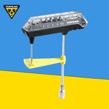 цена на Topeak TPS-SP07 Torque wrench ComboTorq Wrench & Bit Set Inner hexagon Torq Bicycle Tools Kit Road Mountain bike