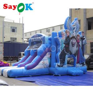 Bouncy Castle Trampoline Slide Commercial Kids