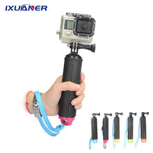 Float Hand Grip Buoyancy Rod Pole Stick Monopod Tripod for Gopro Go Pro Hero 5 4 3 Xiaomi Xiomi Yi 2 4K 4 K Action Camera(China)