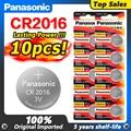 10pc original PANASONIC taste batterie CR2016 uhren 3 v batterie. control spielzeug auto batterie freies verschiffen Geeignet Unterstützt Uhr