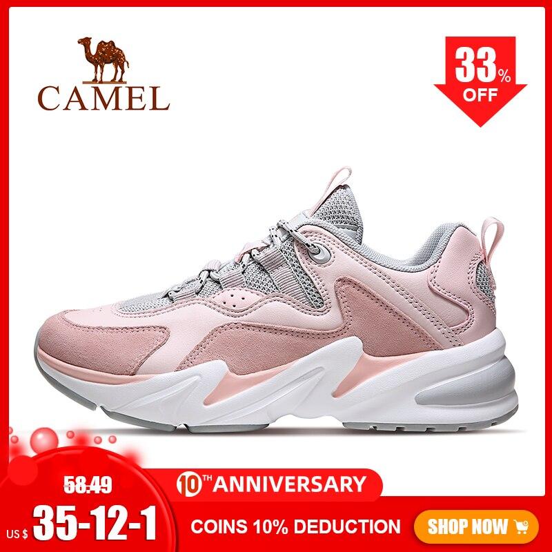 CAMEL Outdoor Fashion Sneakers Men's Shoes Men Women Leisure Sports Shoes Unisex Shoes Couple Women's Casual Shoes