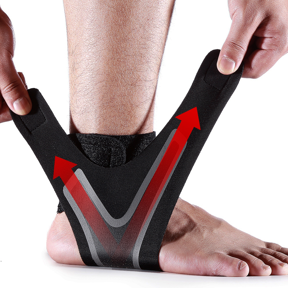 1 PC Fitness Sports Ankle Brace Gym Elastic Ankle Support Gear Foot Weights Wraps Protector Legs