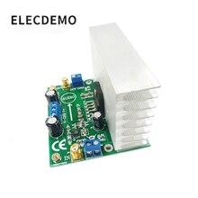 LM3886 module power amplifier board power amplifier audio amplifier OPA445 high voltage version Function demo board free ship lm3886 mount 2x68w dc servo current dynamic feedback power amplifier board