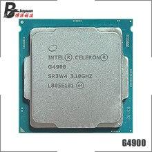 Intel celeron g4900 3.1 ghz duplo-núcleo duplo-thread 54w processador cpu lga 1151