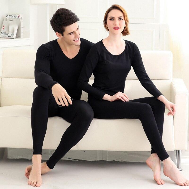 New Women Men Seamless Elastic Thermal Underwear Inner Wear Winter Warm Clothes VN 68