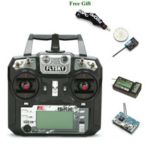 FLYSKY FS i6X i6X 2.4G 10CH AFHDS 2A Transmitter with X6B iA6B A8S V2 Receiver for RC Multirotor FPV Racing Drone Mode 2