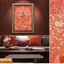 Буддийский Будда тханка холст печать постер Индии китайский дзен домашний декор Настенная картина для гостиной без рамки