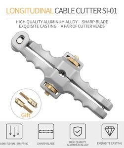 Image 2 - Kesici boyuna açılış bıçak kılıf eğme Fiber optik kablo striptizci SI 01