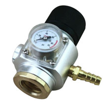 CO2 Charger 0-90 PSI for Sodastream Home Soda TR21X4 Keg Co2 Regulator Beer Brewing Pressure Gage Automatic Container