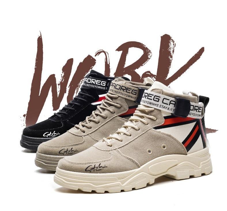 FIFY STORE Chaussures Montantes Hiver pour Homme décontracté