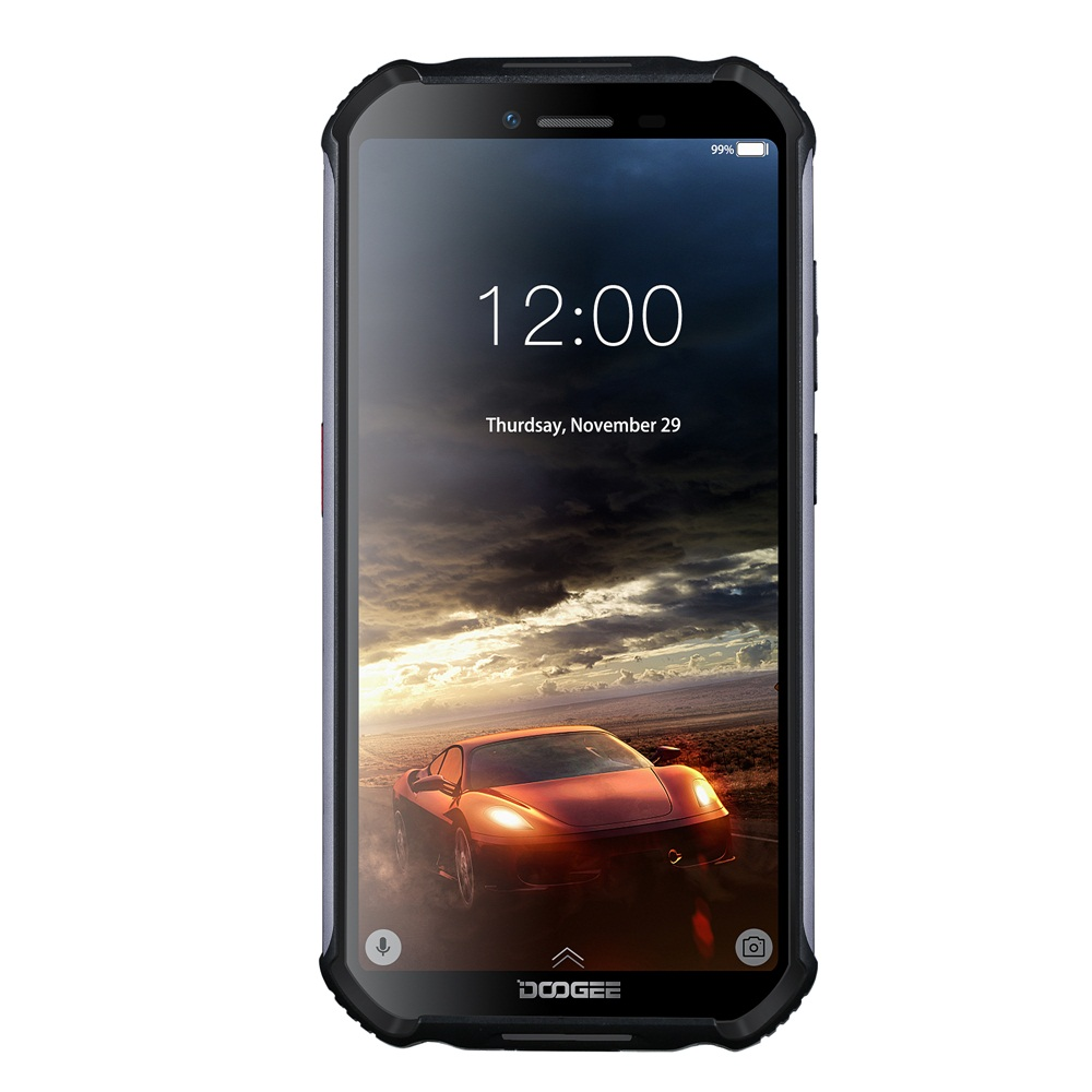 DOOGEE Mobile Phone S40 Lite Quad Core IP68 Rugged Phone Android 9.0 2GB 16GB 5.5inch Display 4650mAh 8.0MP Fingerprint
