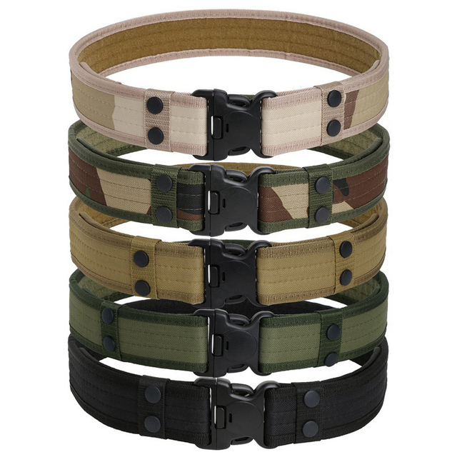 Camouflage Tactical Belts 4