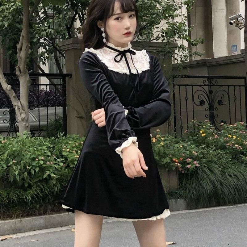 Купить готическое платье лолиты на Алиэкспресс