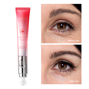 Electric Massage Eye Cream Collagen Crystal Eye Mask Under Eye Patch Anti-Wrinkle Anti-Aging Dark Circles Puffiness Remover