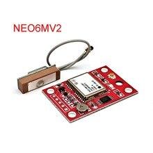 GY NEO6MV2 NEO 6M GPS מודול NEO6MV2 עם בקרת הטיסה EEPROM MWC APM2.5 גדול אנטנה עבור Arduino