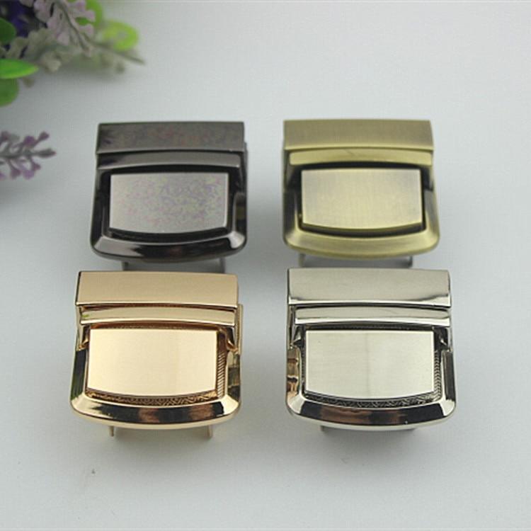 Handbag Hardware Accessories Brain Teaser Lock Bag Hardware Accessories Lock Light Gold Silver qiang hei Lock