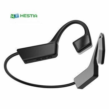 цена на Newest Wireless Bone Conduction Headphones Bluetooth 5.0 Binaural Stereo Bone Headset Waterproof Sports Bluetooth Earphone